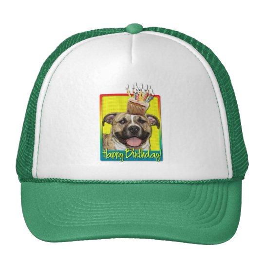 Birthday Cupcake - Pitbull - Tigger Trucker Hat
