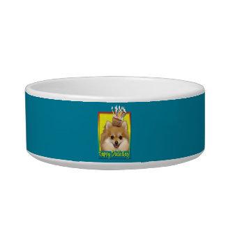 Birthday Cupcake - Pomeranian Bowl