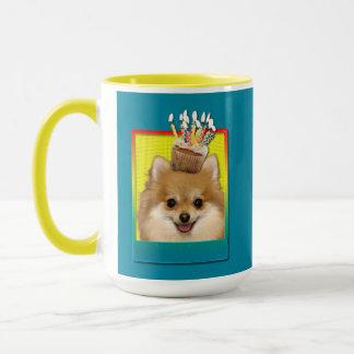 Birthday Cupcake - Pomeranian Mug