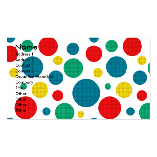 Birthday Cupcake - Rottweiler - SambaParTi Business Card Template