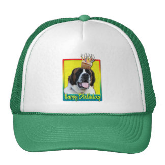 Birthday Cupcake - Saint Bernard - Mae Trucker Hat