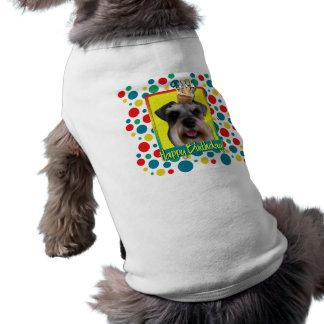 Birthday Cupcake - Schnauzer Pet Shirt