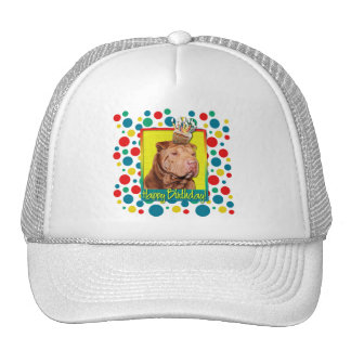 Birthday Cupcake - Shar Pei - Lucky Trucker Hat