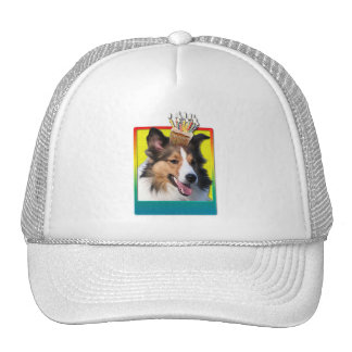 Birthday Cupcake - Sheltie Trucker Hat