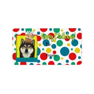 Birthday Cupcake - Shiba Inu - Yasha Label