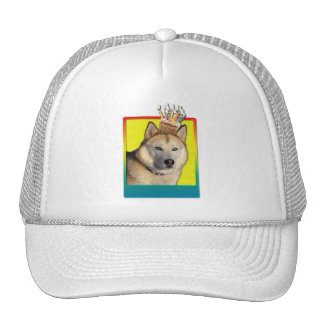 Birthday Cupcake - Siberian Husky - Copper Trucker Hat