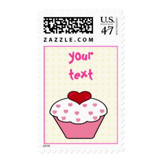 Birthday Cupcake - stamp