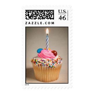 Birthday Cupcake Stamp