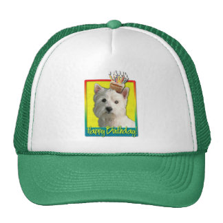 Birthday Cupcake - West Highland Terrier Trucker Hat