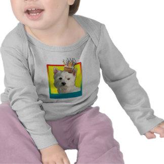 Birthday Cupcake - West Highland Terrier T-shirt