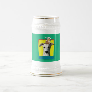 Birthday Cupcake - Whippet Beer Stein