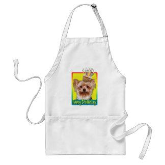 Birthday Cupcake - Yorkshire Terrier Aprons