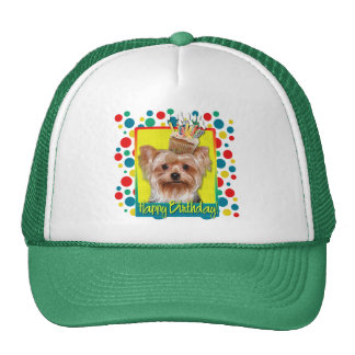 Birthday Cupcake - Yorkshire Terrier Trucker Hat