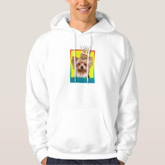 Birthday Cupcake - Yorkshire Terrier Hoodie
