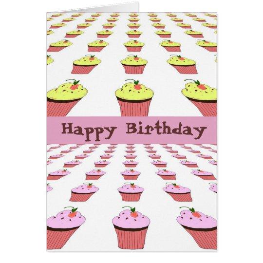 Birthday Cupcakes Galore Card