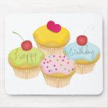 Birthday Cupcakes Mouse Pad