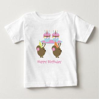 Birthday Cupcakes Party Mice T-Shirt