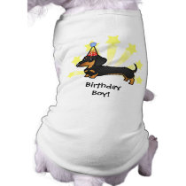 Birthday Dachshund (smooth coat) T-Shirt