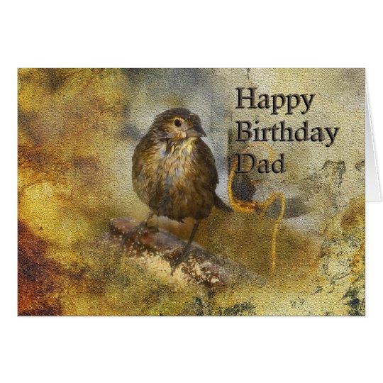 Birthday Dad - Female Cowbird Card