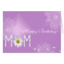 Birthday Daisy for Mom Card