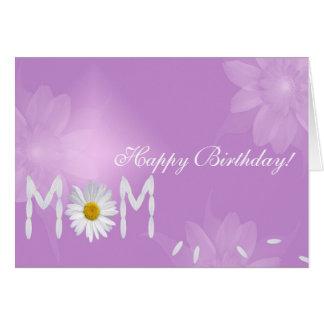 Birthday Daisy for Mom Card