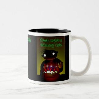 Birthday - Dark Derek Two-Tone Coffee Mug