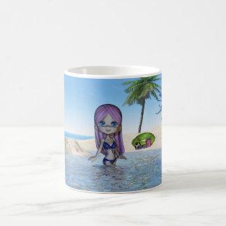 Birthday Daughter Cutie Pie Collection beach life Coffee Mugs