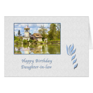 Birthday, Daughter-in-law, Versailles, Card