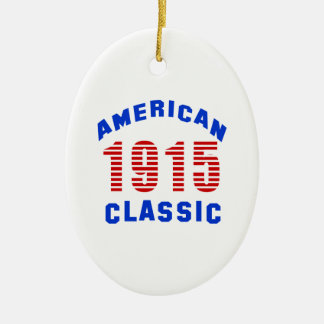 Birthday Design 100 Ceramic Oval Ornament