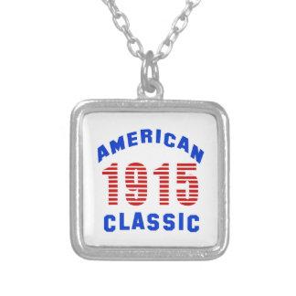 Birthday Design 100 Square Pendant Necklace