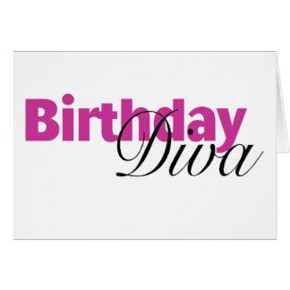 Birthday Diva (2) Greeting Card
