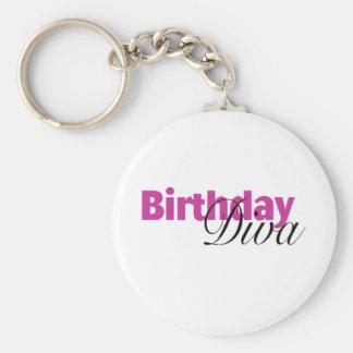 Birthday Diva (2) Keychain