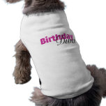 Birthday Diva (2) Pet Tshirt