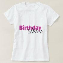 Birthday Diva (2) T-Shirt