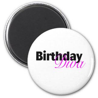 Birthday Diva (3) Magnet
