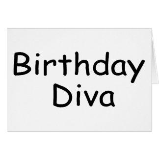 Birthday Diva Card
