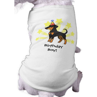 Birthday Doberman Pinscher (floppy ears) Tee