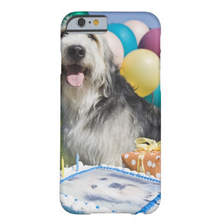 Birthday dog barely there iPhone 6 case