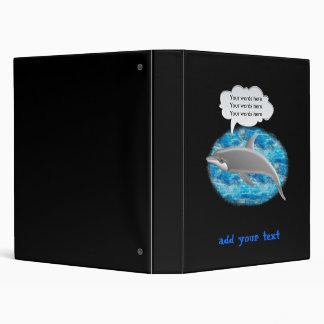 Birthday dolphin binder
