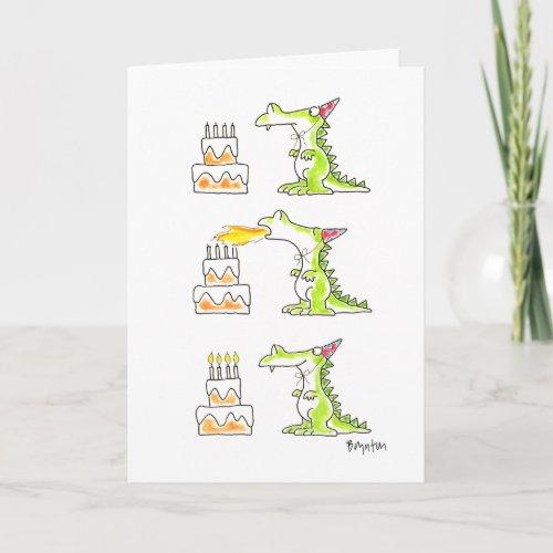 BIRTHDAY DRAGON by Boynton Card