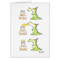BIRTHDAY DRAGON by Boynton Card