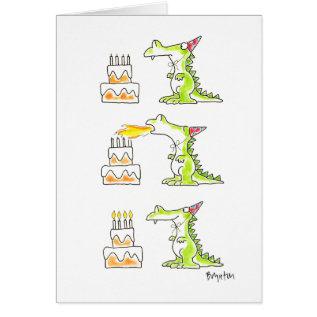 Birthday Dragon By Boynton Card at Zazzle