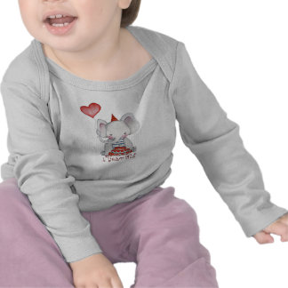 Birthday Elephant First Birthday T Shirt