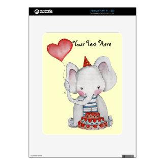 Birthday Elephant iPad Skin