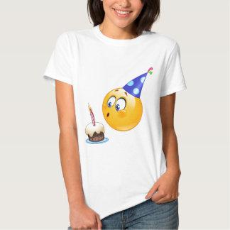 birthday emoji tee shirt