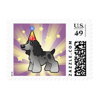 Birthday English Cocker Spaniel Postage