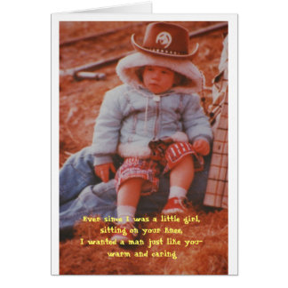 Birthday - Ever since I was a little girl,sitting Greeting Card