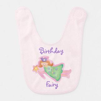 Birthday Fairy Baby Bib