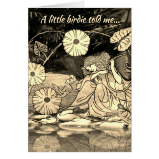 Birthday Fairy Princess Card