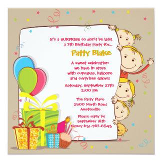 Birthday Family Invitation